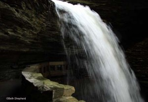 Falls at Watkins Glen State Park