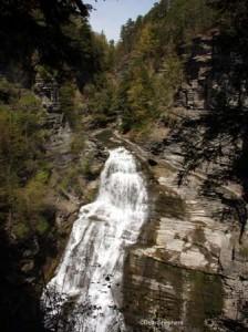Lucifer Falls at Robert H. Treman State Park, Ithaca, New York