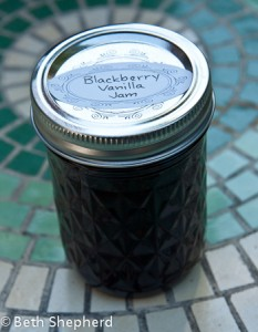 Blackberry-vanilla jam