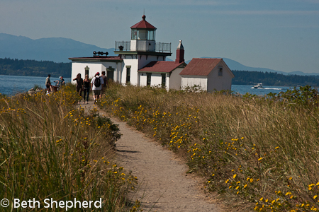 Light house at Discovery Park