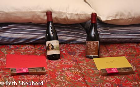 Pinot and Theo's Casanova Sampler