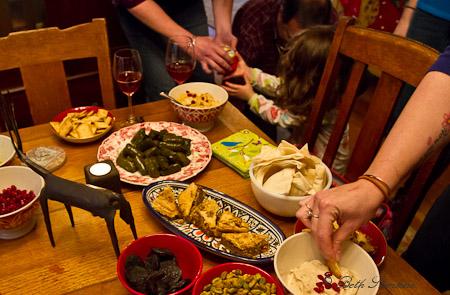 Armenian Christmas feast