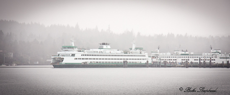 Ferry across the Puget Sound