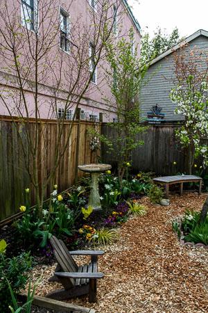 finished garden remodel