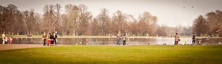 Kensington Garden pond