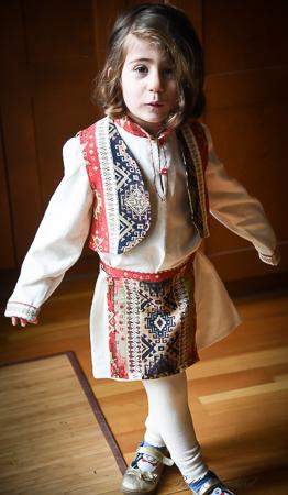 Armenian Christmas costume