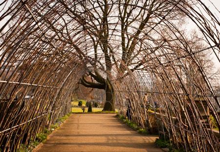 Arbor at Kensington Gardens London, England