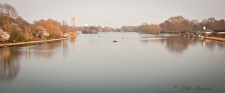 Lake at Hyde Park