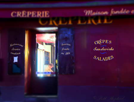 Crepes by dusk