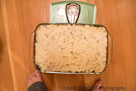 11 pound Shepherd's Pie