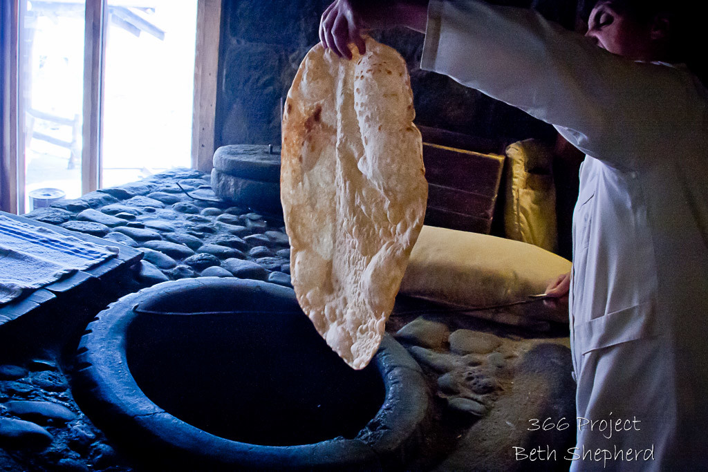 cooked lavash