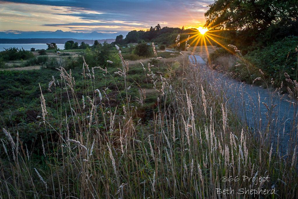 Sunset Puget Sound