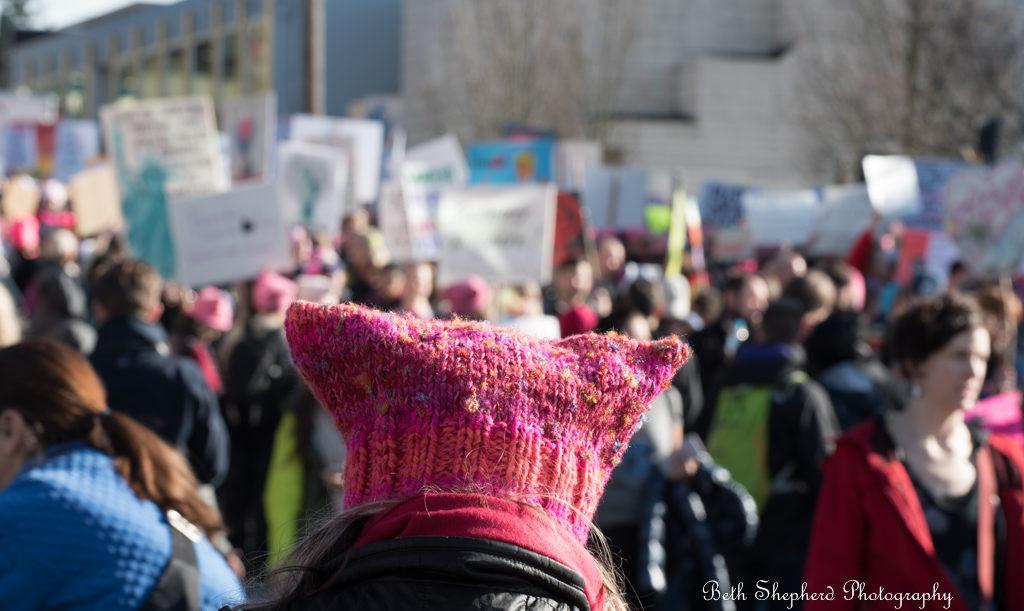 Seattle Women's March January 2017