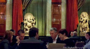 London Indian dinner