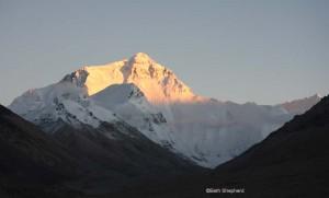 Sunset at Everest