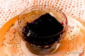 Blackberry Cabernet Sorbet