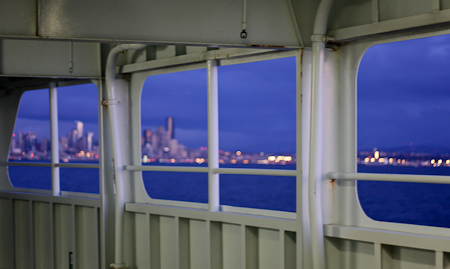 Ferry into Seattle
