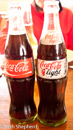 Mexican Coke in a bottle