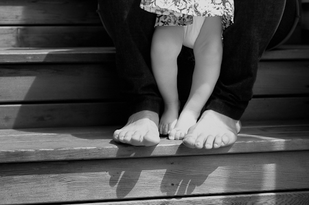 Mama and daughter feet ©2012 Wenmei Hill Photography