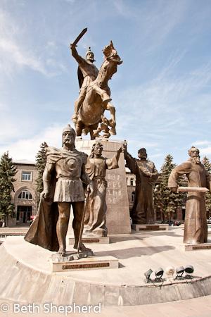 Gyumri monument