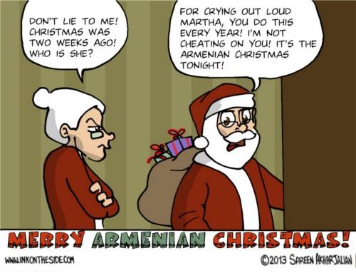 Armenian Christmas by Sareen Akharjalian