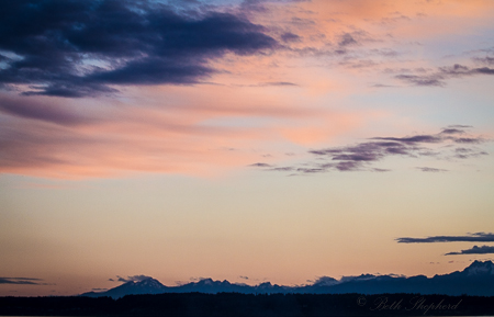PNW at sunset