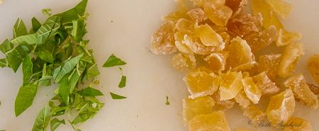 Lemon Verbena and Candied Ginger