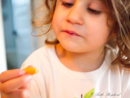 Eating carrots 2