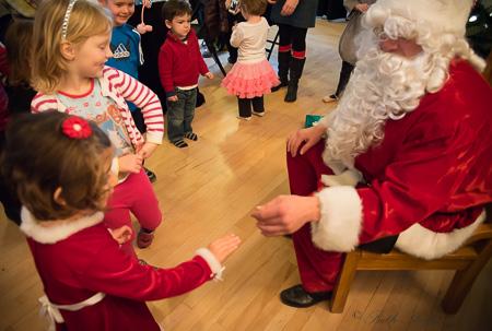 Touching Mr. Claus