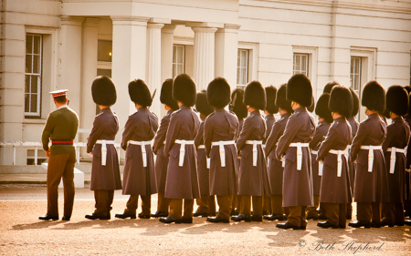 Buckingham Palace bobbies