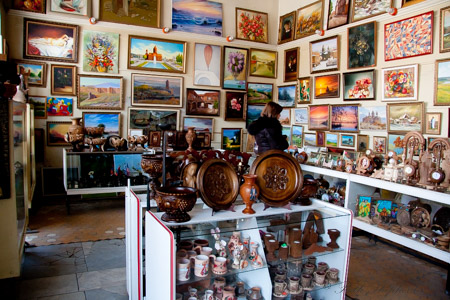 Gyumri gift shop