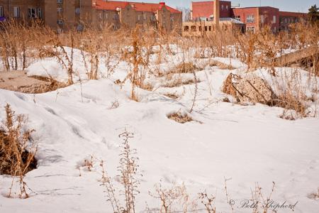 Gyumri Armenia in winter