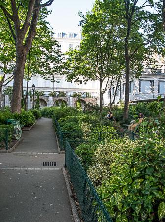 Square Jehan Rictus Montmartre