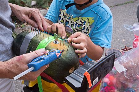 Squash car construction