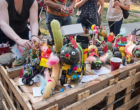 zucchini contest entrants