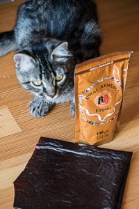 Armenian fruit leather and Armenian coffee