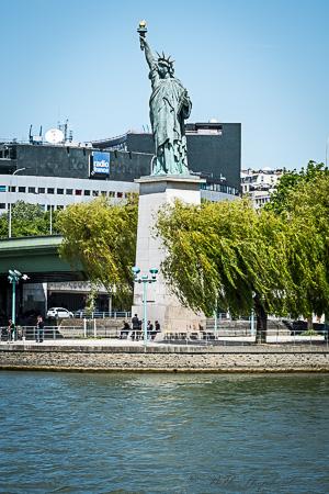 Statue of Liberty Seine Paris