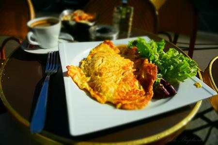 Omelet in Paris