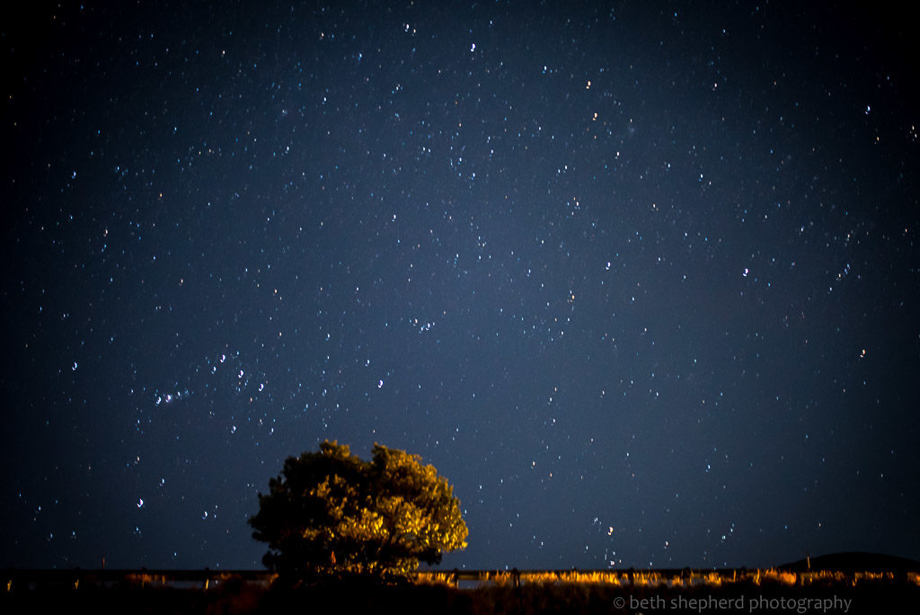 Big Island Night sky
