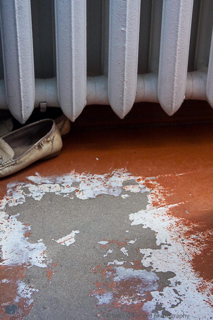 floor in orphanage