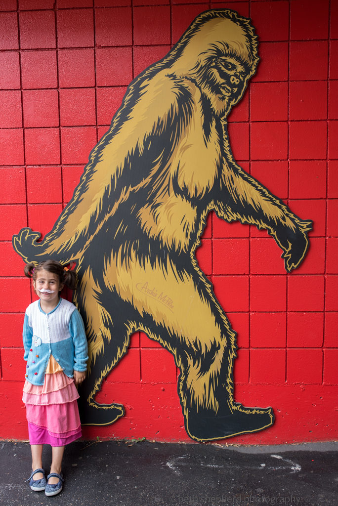 Bigfoot at Archie McPhee in Wallingford